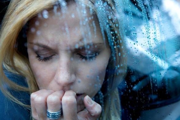 depression in the rain